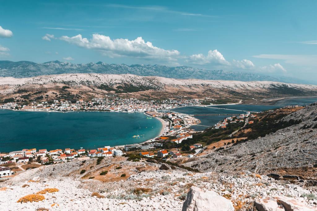 Île de Pag, Croatie