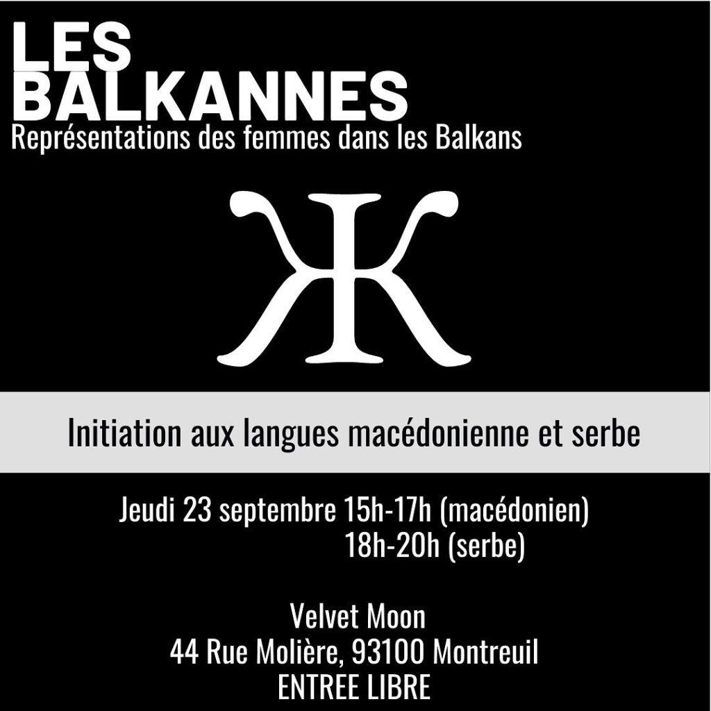 initation langues balkans