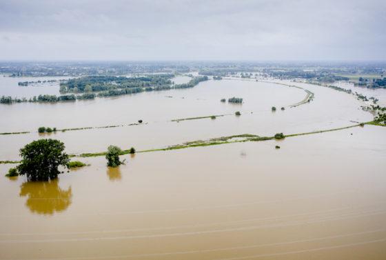 holland áradás