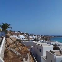 A walk in the Aegean Sea- Spectacular Mykonos