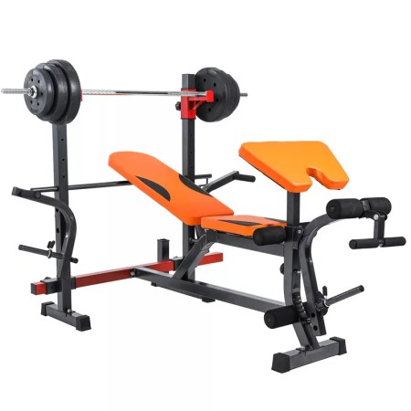 Adjustable Weightlifting Bench Press