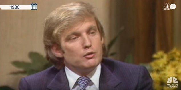 ビフのモデルはアメリカ大統領?!