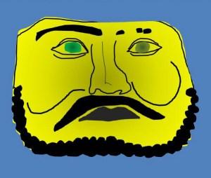 タリム盆地の仮面