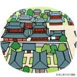 長安(俯瞰で見た漢の時代の大都市)