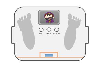 董卓の体重計