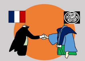 フランスと江戸幕府