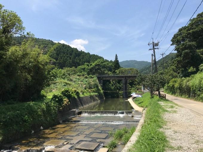 野島川河川プール(宮崎市内海)