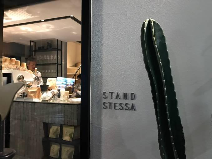 STAND STESSA and HIRAKI