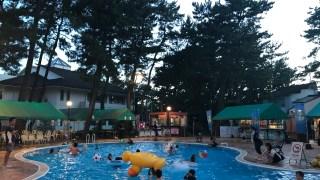 コテージヒムカ(ラグゼ一ッ葉)のプールサイドバーベキューは子供連れに最高!