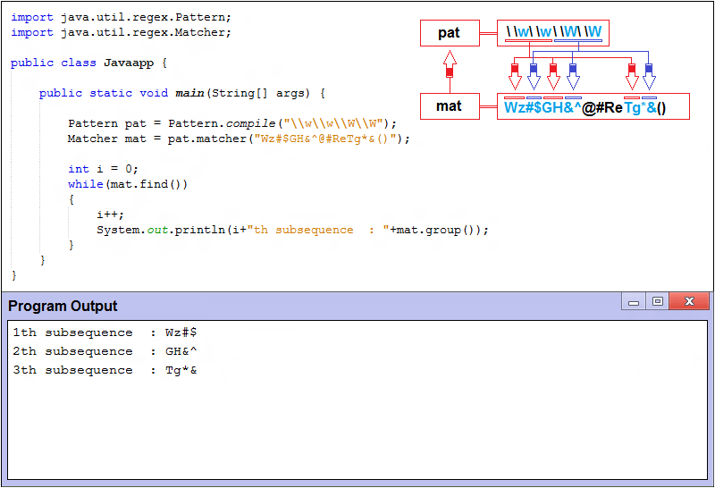java illegal escape character