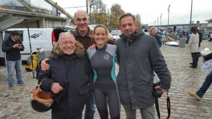 Le support du HAK (Houlage Association Kite) Dan, Philippe J. et Lio.