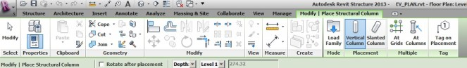 revit option bar missing
