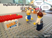 Agile 2014 photo session
