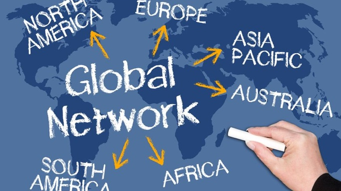 Global network in Saigon