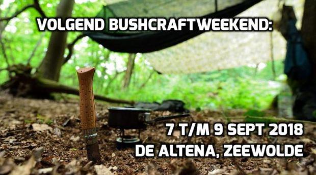 Hakbijlen.nl op het Bushcraftweekend 7 9 sept 2018
