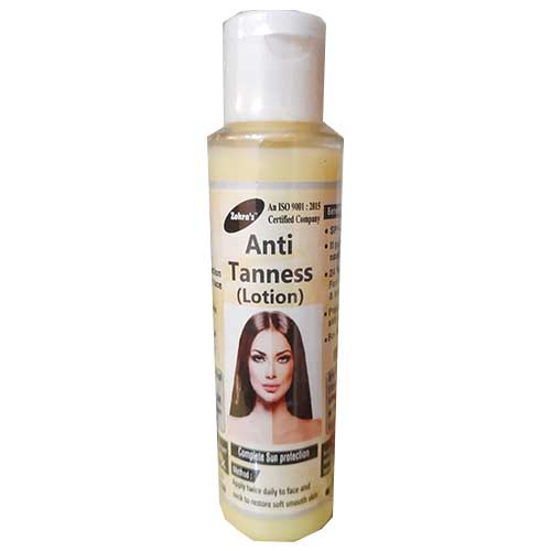 zohra anti tanness lotion
