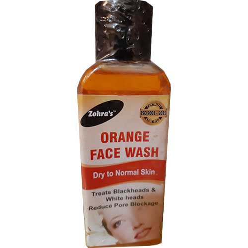 zohra orange facewash