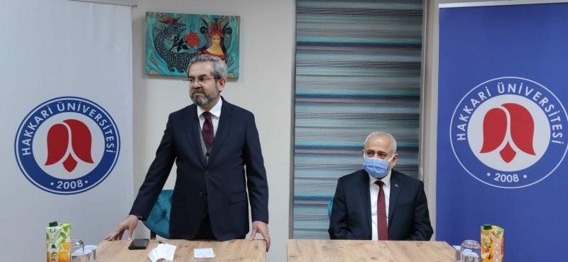 Ankara Üniversitesi heyeti Hakkari'de