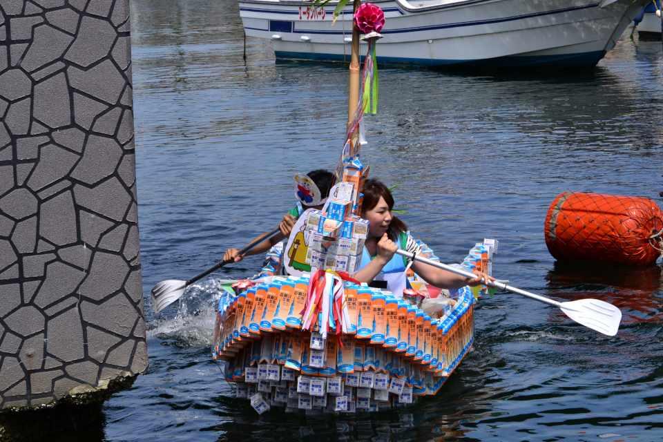 ミルクパックボートレース