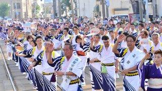 2014年函館港まつりパレード 十字街・松風コース写真集