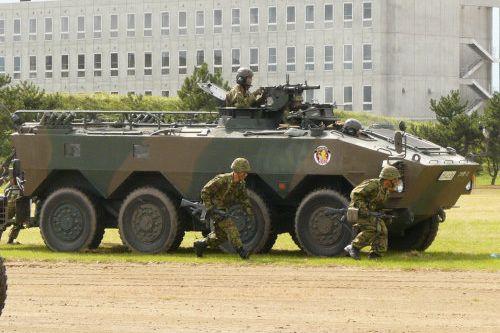陸上自衛隊函館駐屯地創立記念行事