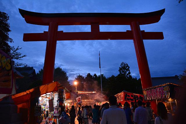 湯倉神社例大祭
