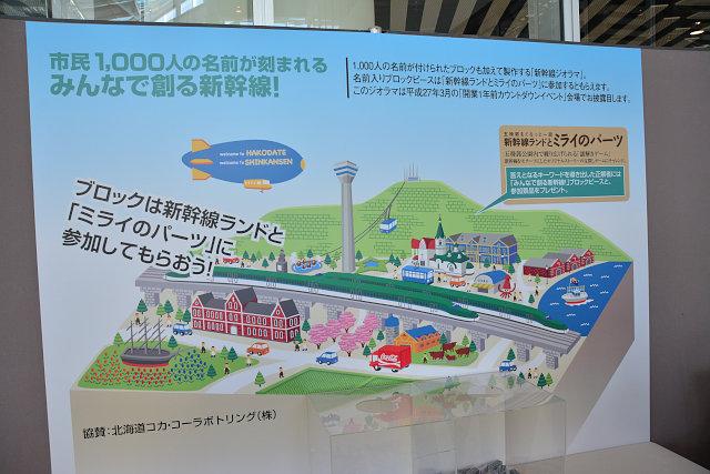 イベントで展示される新幹線ジオラマのイメージ