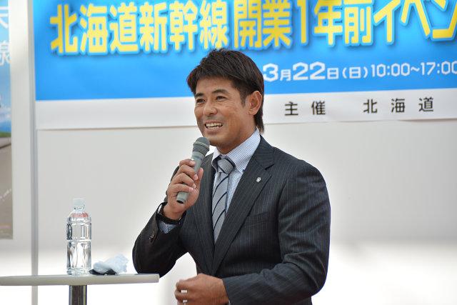 北海道新幹線開業1年前イベントin函館・五稜郭
