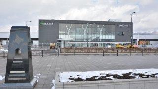 北海道新幹線・新函館北斗駅駅前には、アレがいっぱいある件