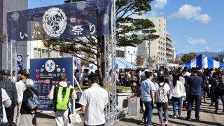 【2017/9/30・10/1】函館いか祭り