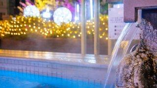 【フォトレポ】映えるスポットとして人気が出そうな「函館湯の川 冬の灯り」