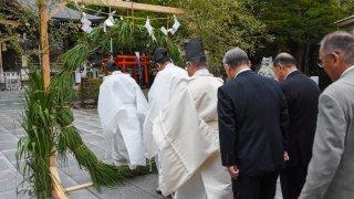 【2020/6/30】湯倉神社で「夏越しの大祓(なごしのおおはらえ)」