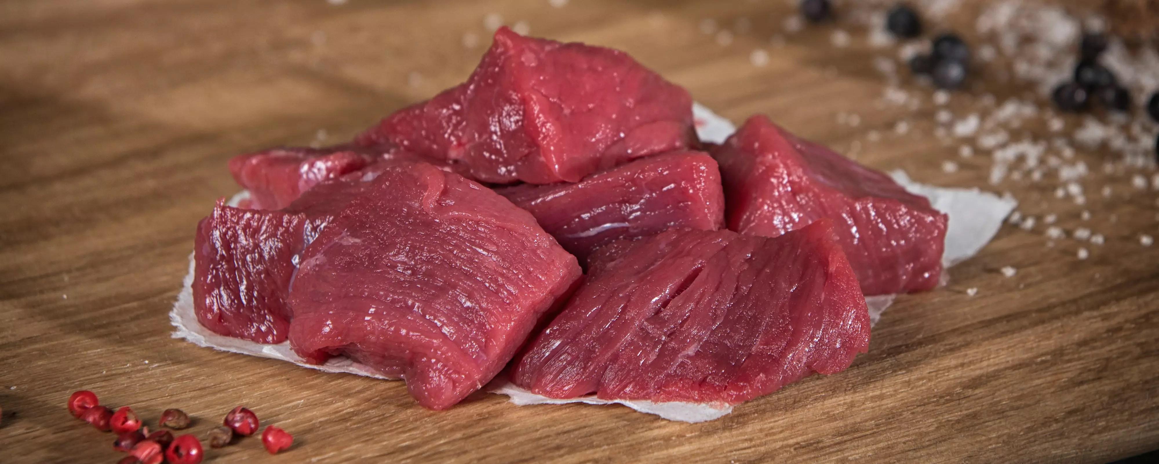 Biefstukpuntjes biefstukblokjes