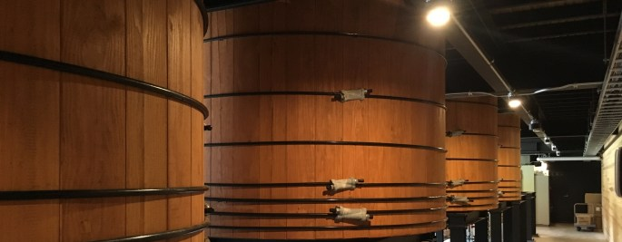 Oregon Pine and Japanese Cedar washbacks, Shizuoka Distillery