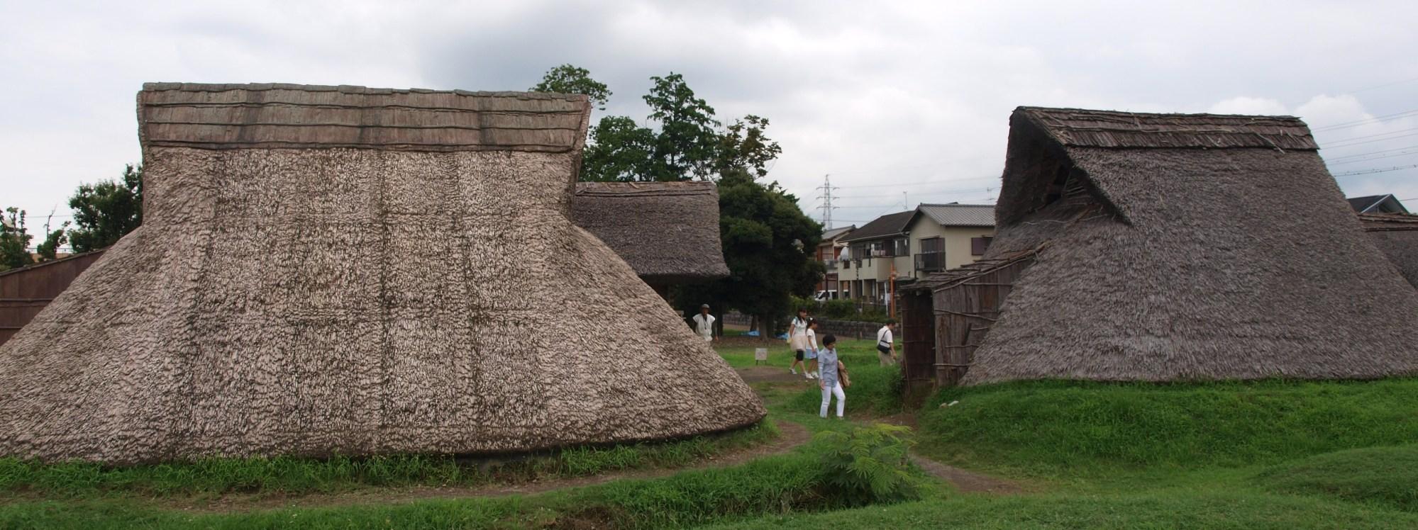 Toro Iseki, Shizuoka. 1700 year old site showing stone age (Yayoi) Japanese culture being influenced by Chinese civilisation