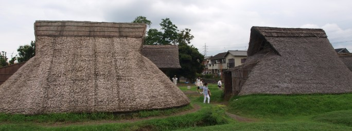 Toro Iseki, Shizuoka. 1700 year old site showing stone age (Yayoi) Japanese culture being influenced by Chinese civilisation
