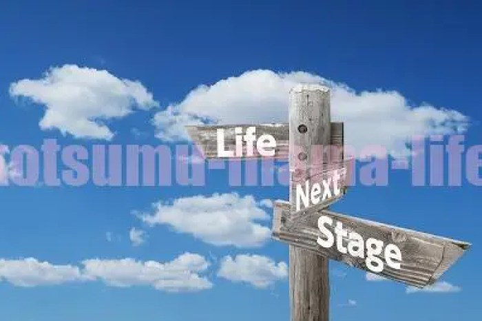Life Next Stageの看板