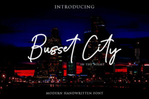 Busset City Excellent Signature