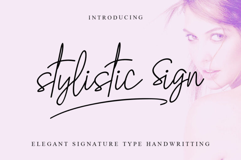 Preview image of Stylistic Sign
