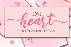 Love Heart / Beauty Combo