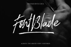 FontBlade Brush Script
