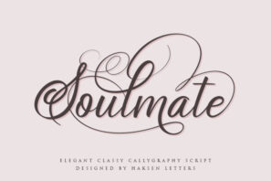 Soulmate // Luxury Beauty Calligraphy