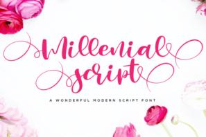 Millenial Script Modern Calligraphy