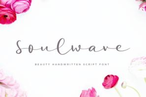 Soulwave Beauty Modern Script