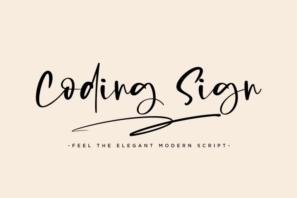 Coding Sign