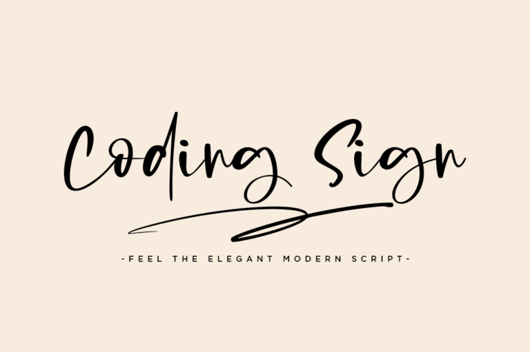 Preview image of Coding Sign