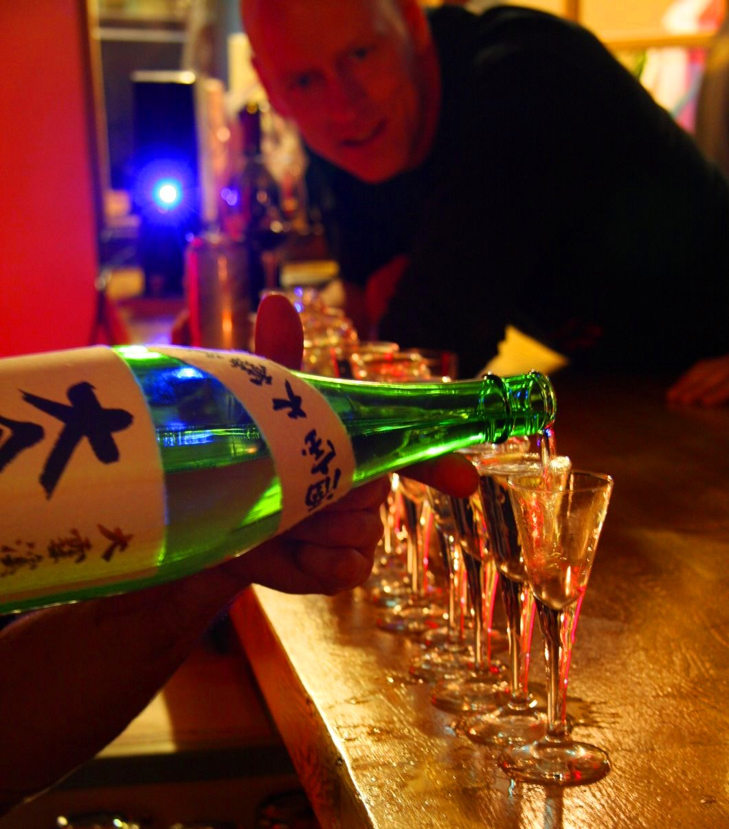 Sake at the Bar