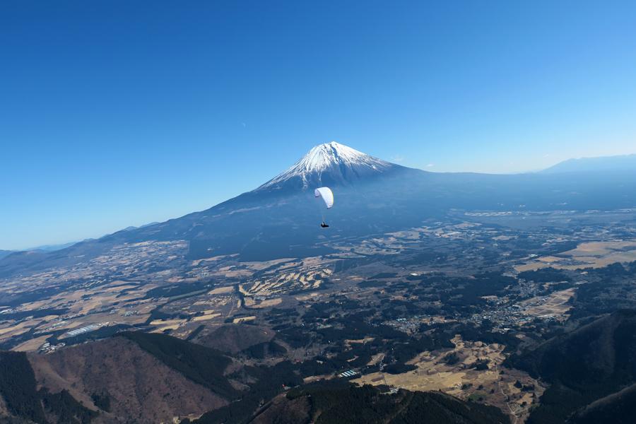 Mentor4 light平井さんと富士山