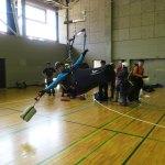 レスキュー開傘トレーニング