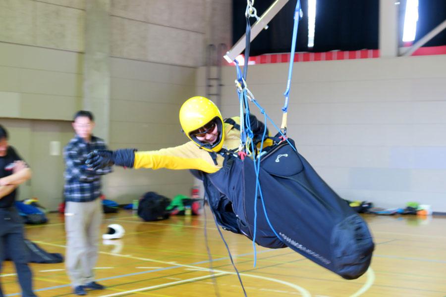 レスキュー開傘トレーニング3